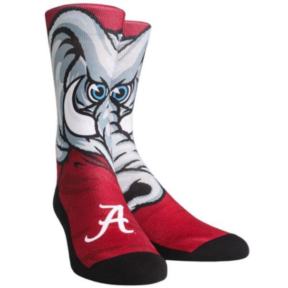 Alabama Rock ' Em Mascot Series Crew Socks