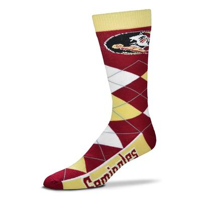 Florida State FBF Originals Men's Argyle Socks