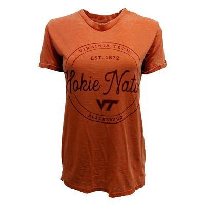 Virginia Tech Ella Vintage Wash T-Shirt
