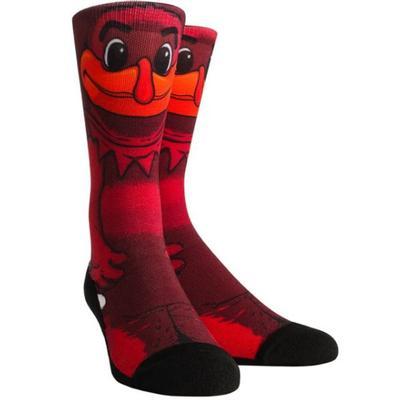 Virginia Tech Hyper Optic Mascot Series Crew Socks