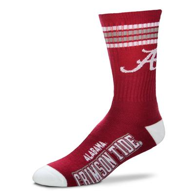 Alabama 4 Stripe Deuce Socks