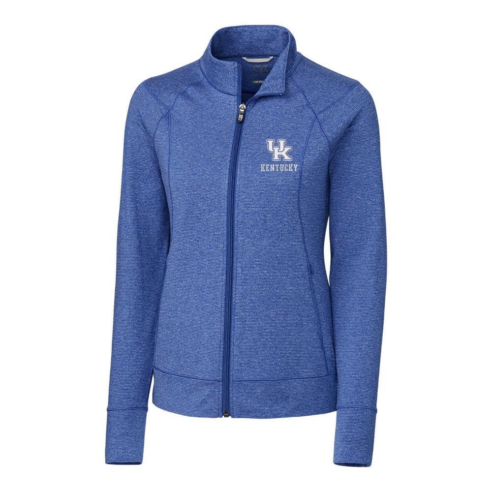 Kentucky Cutter & Buck Women's Shoreline Full Zip Jacket