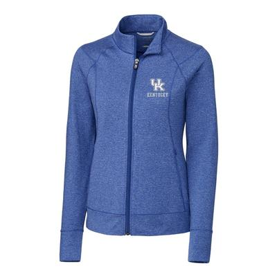 Kentucky Cutter & Buck Women's Shoreline Full Zip Jacket