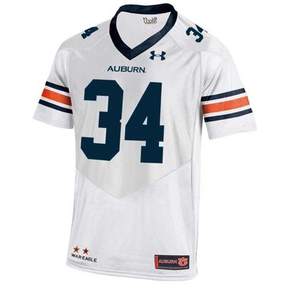 Auburn Under Armour #34 Replica Jersey