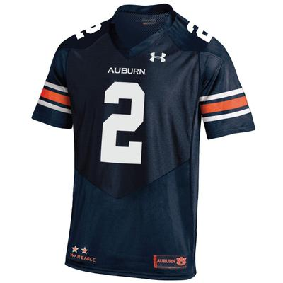 Auburn Under Armour #2 Premier Replica Jersey