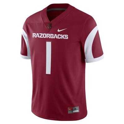 Arkansas Nike Game Jersey #1