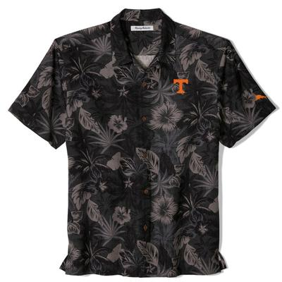 Tennessee Tommy Bahama Fuego Floral Camp Shirt