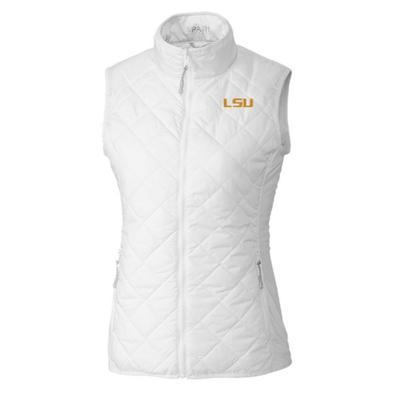 LSU Cutter & Buck Women's Sandpoint Vest