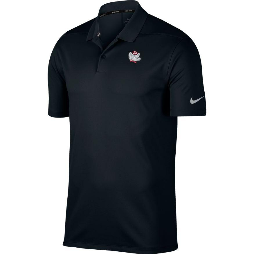 Alabama Nike Golf Retro Elephant Dry Victory Solid Polo