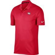 Alabama Nike Golf Retro Elephant Dry Victory Solid Polo