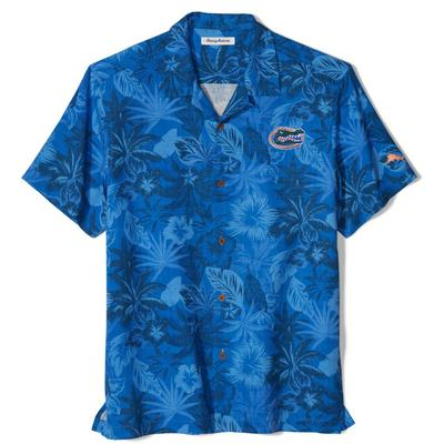 Florida Tommy Bahama Fuego Floral Camp Shirt