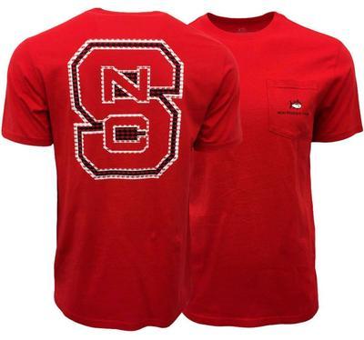 NC State Skipjack NCS Logo Short Sleeve Tee