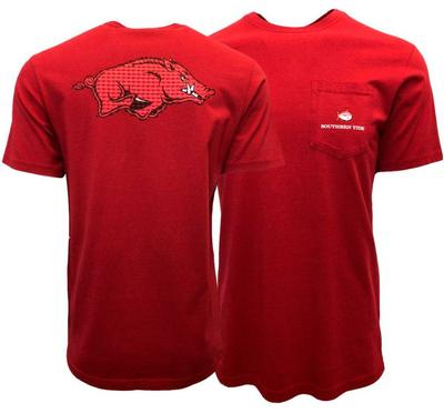 Arkansas Skipjack Running Hog Short Sleeve Tee