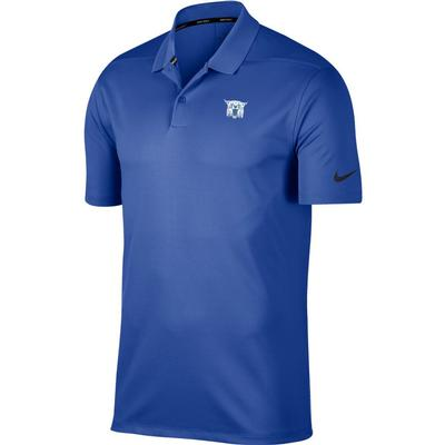 Kentucky Nike Golf Vault Wildcat Dry Victory Solid Polo ROYAL