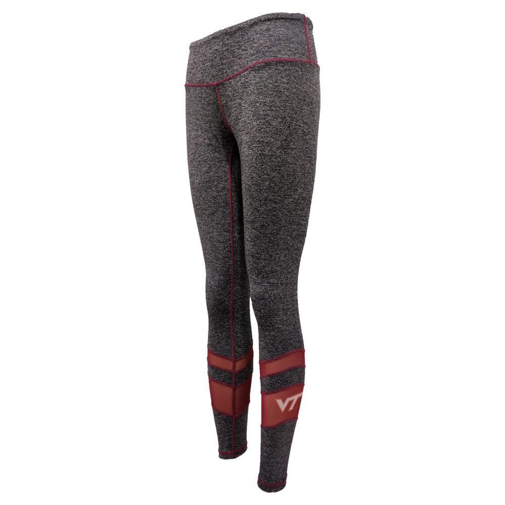 Virginia Tech Mesh Striped Leggings
