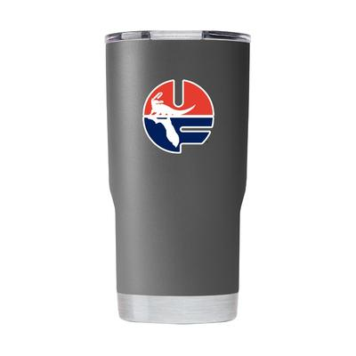 Florida Gametime Sidekick 20oz Pell Logo Vault Tumbler With Lid