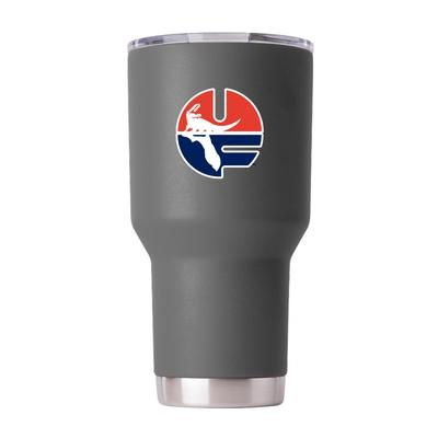 Florida Gametime Sidekick 30oz Pell Logo Vault Tumbler With Lid