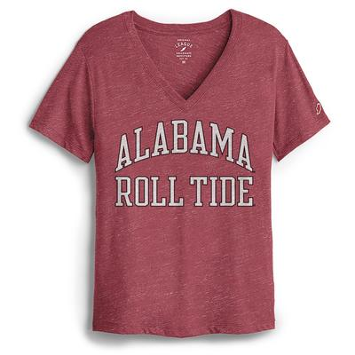 Alabama League Women's Intramural Boyfriend V-Neck Tee