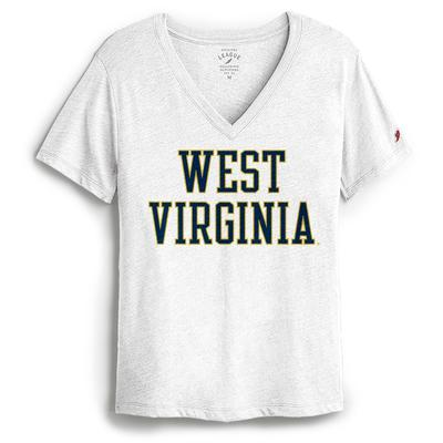 West Virginia League Women's Intramural Boyfriend V-Neck Tee