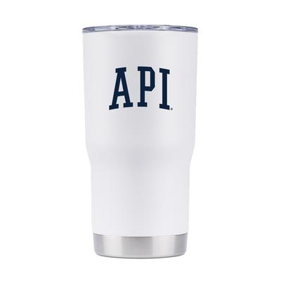 Auburn Gametime Sidekick 20oz API Vault Tumbler With Lid
