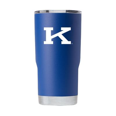 Kentucky Gametime Sidekick 20oz Block K Vault Tumbler With Lid