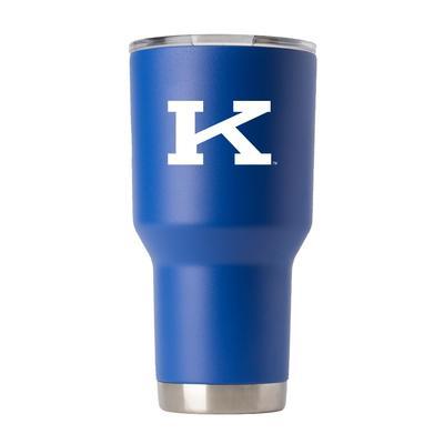 Kentucky Gametime Sidekick 30oz Block K Vault Tumbler With Lid