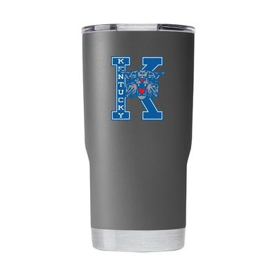 Kentucky Gametime Sidekick 20oz Block K With Wildcat Vault Tumbler With Lid