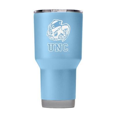 UNC Gametime Sidekick 30oz Vault Logo Tumbler With Lid