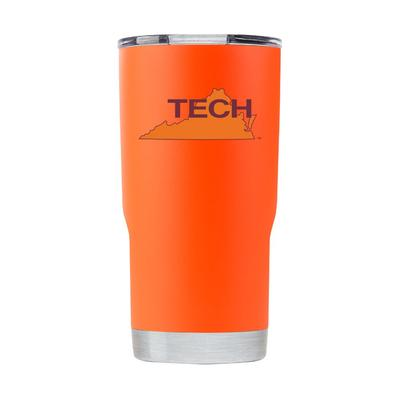 Virginia Tech Gametime Sidekick 20oz Retro State Vault Tumbler With Lid