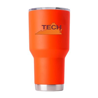 Virginia Tech Gametime Sidekick 30oz Retro State Vault Tumbler With Lid