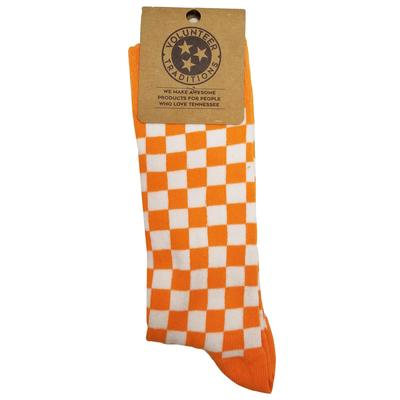 Volunteer Traditions Checkerboard Socks