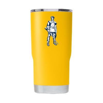 West Virginia Gametime Sidekick 20oz Retro Mountaineer Vault Tumbler With Lid
