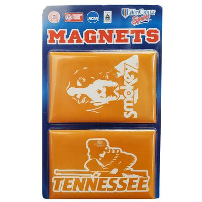Tennessee Smokey and Rifleman 2 pack Magnets 3