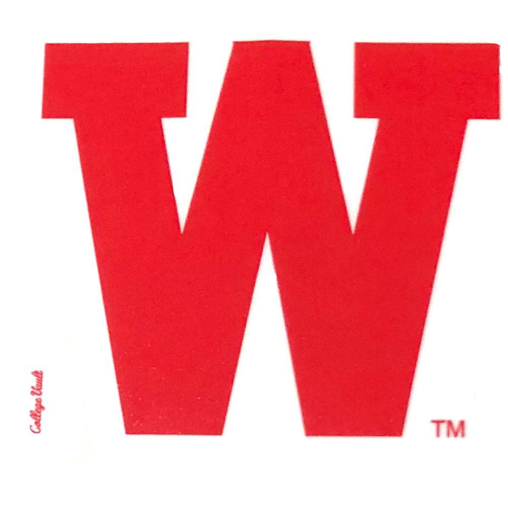 Western Kentucky Decal Vault W Logo
