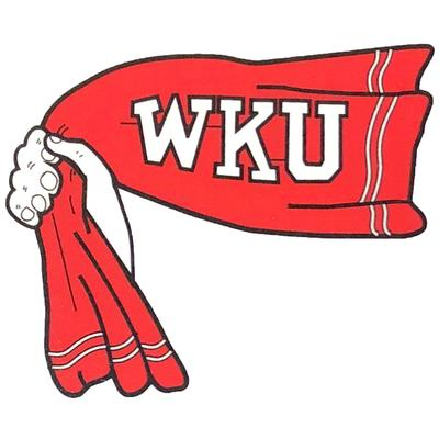 Western Kentucky Decal Vault Rally Towel Logo (4