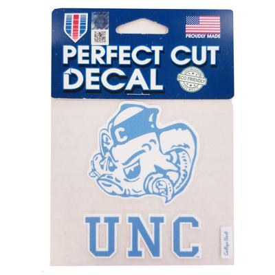 UNC Decal Vault Rameses Logo (4