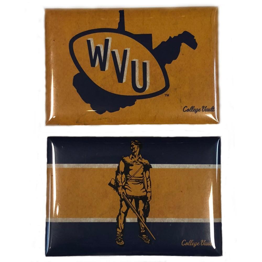 West Virginia Vault Magnet 2- Pack