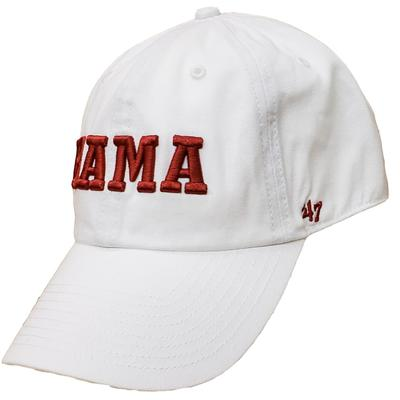 Alabama 47 Clean BAMA Logo Adjustable Hat