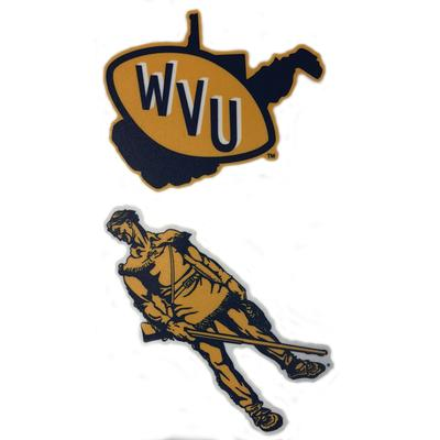 West Virginia Vault Decal 2-Pack