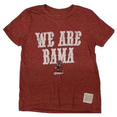 Alabama Retro Brand Youth We Are Bama Tee
