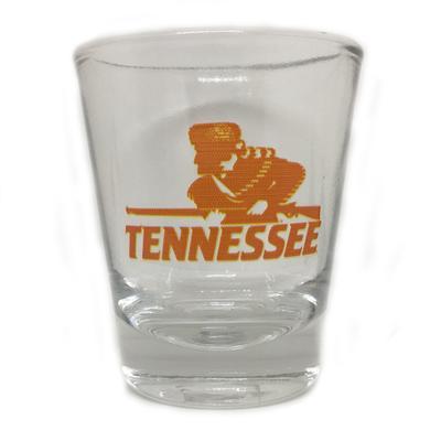 Tennessee Rifleman Vault Logo 1.5 Oz Shot Glass