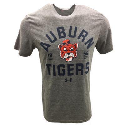 Auburn Under Armour Tiger Head Arch Vault Tee