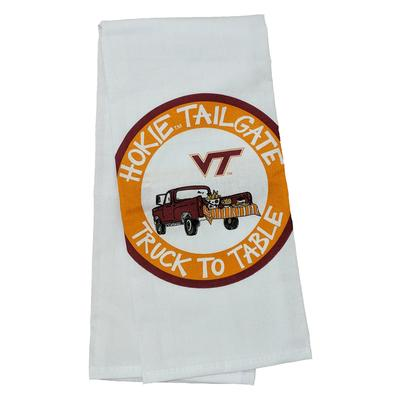 Virginia Tech Magnolia Lane Truck Hand Towel