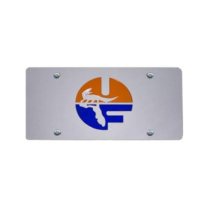 Florida Retro Circle Logo License Plate