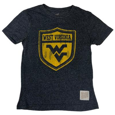 West Virginia Retro Brand Youth Vault Shield Tee
