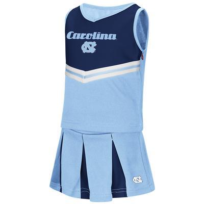 UNC Toddler Cheer Set