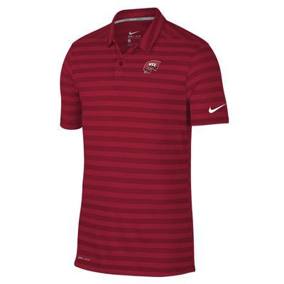 Western Kentucky Nike Dry Stripe Polo