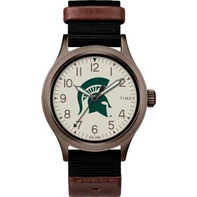 Michigan State Timex Clutch Watch