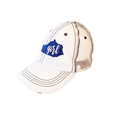 Kentucky Girl Glitter Adjustable Hat