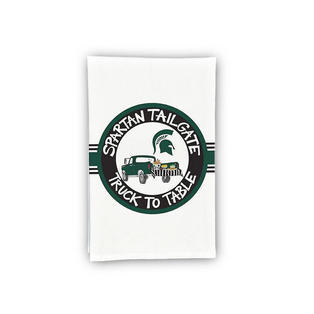 Michigan State Truck Hand Towel